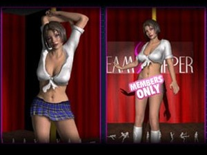 3D Virtual Strippers - XXX danza polo