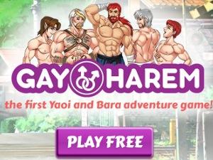 Gay Harem - gioco porno gay Yaoi