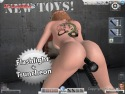 Cazzo culo di prigione torcia en 3D SexVilla 2