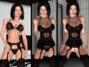 Gioco 3D SexVilla 2 sesso con feticcio lingerie